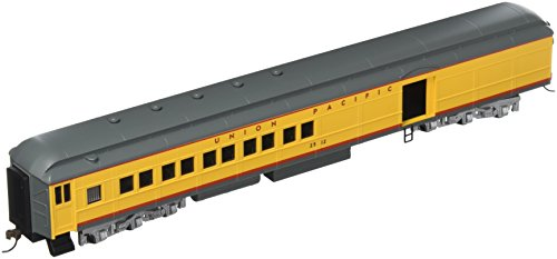 Bachmann Industries Union Pacific 4 Window Door #2512 72' Heavyweight Combine with Lighted Interior