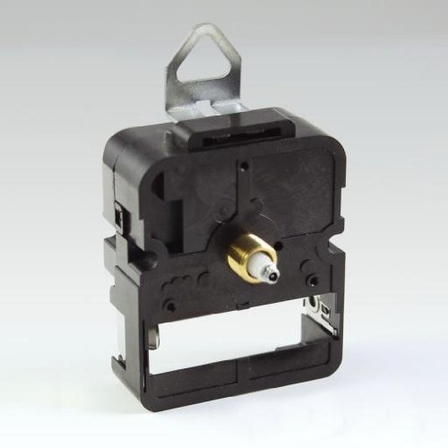 Standard ''C Battery'' Size Movement for Dials up to 1/4 in. thick (5 1/2 in. Black Hands) by Quality Clock Parts