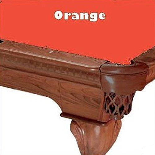 8' Orange ProLine Classic 303 Teflon Billiard Pool Table Cloth Felt by PROLINE