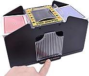 4 Deck Automatic Card Shuffler 4 Decks of Playing Cards Shuffler Electric Battery Operated Poker Shuffling Mac