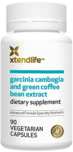 Xtend-Life Garcinia Cambogia and Coffee Bean Extract, Gluten Free, Natural Weight Management Support Supplement, 90 Vegetarian Capsules
