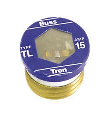 Bx/4: Ace Time Delay Plug Fuse (TL-15) by Bussmann Electrical