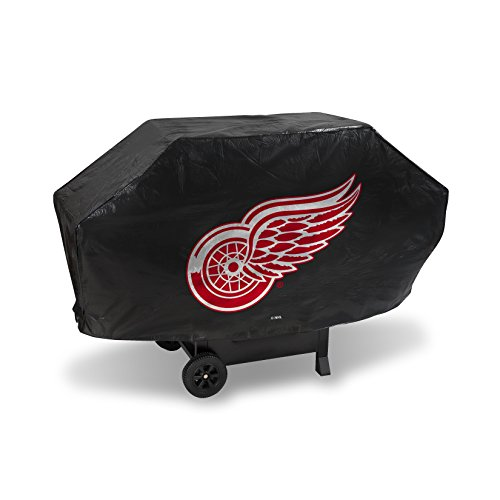 Rico Industries NHL Detroit Red Wings Vinyl Padded Deluxe Grill Cover
