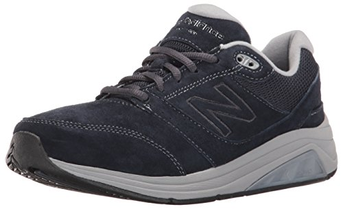 New Balance Women's 928v2 Walking Shoe, Navy/Grey, 7 B (Blue Suede Shoes Bar)