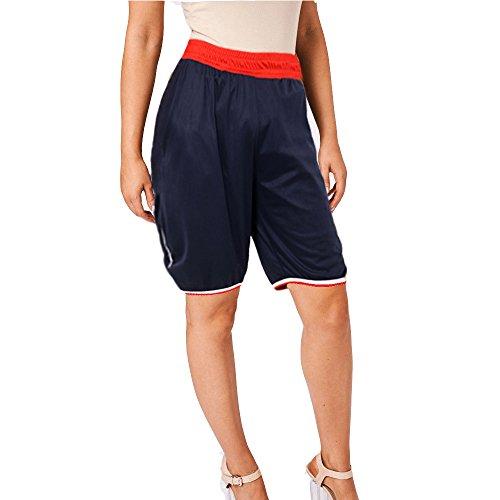 Pantaloncini Donna Beach MUGHNIO Shorts Navy X8Zd1q