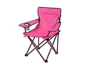 Amazon Com Ozark Trail Kids Folding Camp Chair Pink