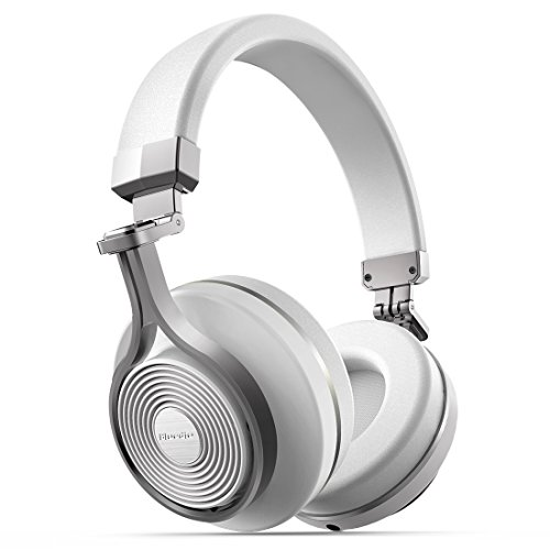 T3 Turbine (NEW Fashion Bluedio T3(Turbine 3rd) Bluetooth4.1 3D stereo sound effect Headsets Wireless Headphone with Mic, 57mm Drivers/Rotary Folding Micro-USB charging for iPhone/android (White))