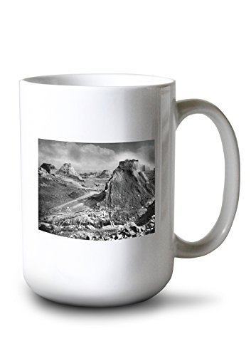 Lantern Press The Famous Denny Regrade of Seattle, Washington (15oz White Ceramic Mug)