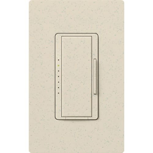 Lutron MRF2-6ND-120-LS, Single Pole 600 Watt Preset Incand Light Dimmer, Limestone by Lutron