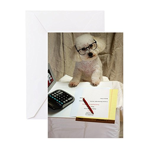 Bichon Frise Greeting Card - CafePress I Love My Bichon Frise Greeting Card, Note Card, Birthday Card, Blank Inside Matte