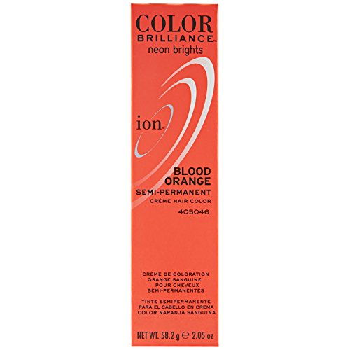 neon orange permanent hair dye - 1