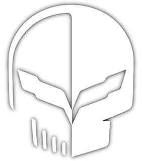 Amazoncom C7 Stingray Corvette Jake Racing Skull Vinyl Decal