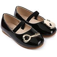 ContiKids Girls Lock & Key Mary Jane Flat Shoes (Toddler/Little Kid)