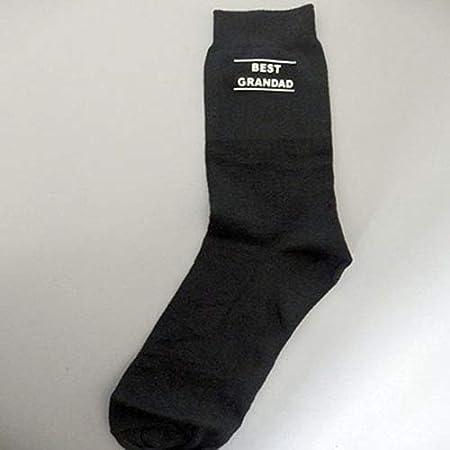 Mejor abuelo vinilo impreso calcetines Navidad día del padre ...