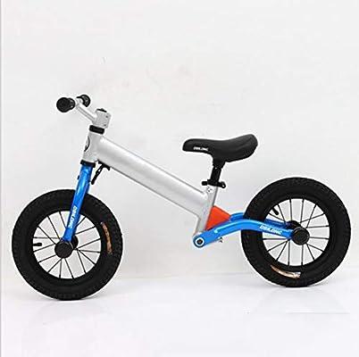 TX Bicicleta De Equilibrio Bicicleta De Entrenamiento Ligera para Principiantes 2 Ruedas Sin Pedal, 1-6 Años, Andar En Bicicleta para Aprender Rueda De Radios,Blue: Amazon.es: Deportes y aire libre
