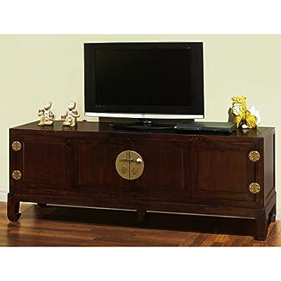 Hand Crafted Elmwood Kang Media Cabinet