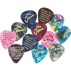 Pick Jesus Guitar Picks - Pick Jesus Guitar Picks - 12 - Pack
