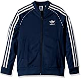 adidas Originals Big Boys' SST Track Jacket, Collegiate Navy, M/M