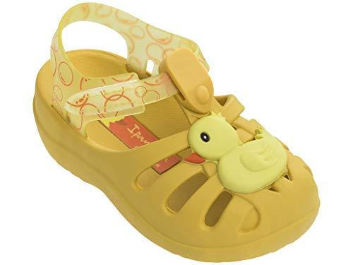 Ipanema Summer VI Girls' Baby Sandals, Yellow/Yellow (7 US) -