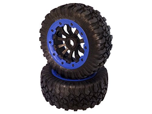 King Motor X2 Wheels (set of 2) Fits LOSI 5IVE T and Rovan LT 4WD Truck