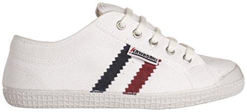 Kawasaki Tennis Unisex-Erwachsene Sneakers Schwarz (Black Weiß (White, 01)