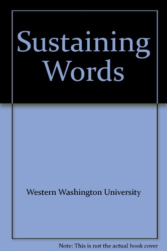 Sustaining Words