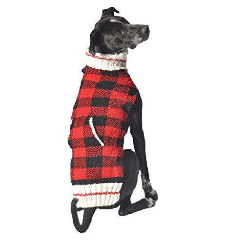 Chilly Dog Buffalo Plaid Ornament, XX-Small by Chilly Dog