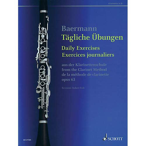 Daily Exercises, Op. 63 (from The Clarinet Method) Woodwind Series Softcover Pack of - Softcover Method