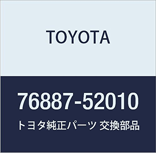 Toyota Genuine 76887-52010 Spoiler Seal