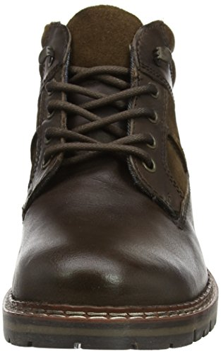 Bottines Homme Tape Red Huxley Marron Brown qnHwxSP1R