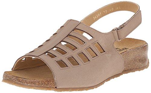 Stone TS Sandal Haflinger Flat Beige Morgan Women q8zwwZ1A