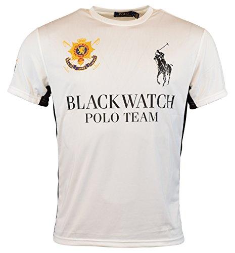 Polo Ralph Lauren Black Watch (Polo Ralph Lauren Black Watch Performance Jersey Crew-Neck T-Shirt (L))
