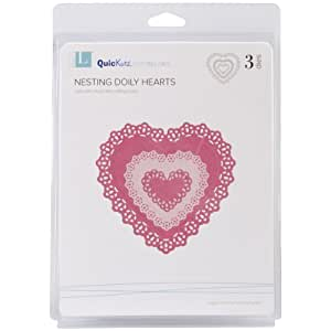 We R Memory Keepers Nesting Doily Hearts Cookie Cutter Die Set