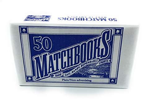 50 Plain White Matches Matchbooks Wedding, Birthday etc ()