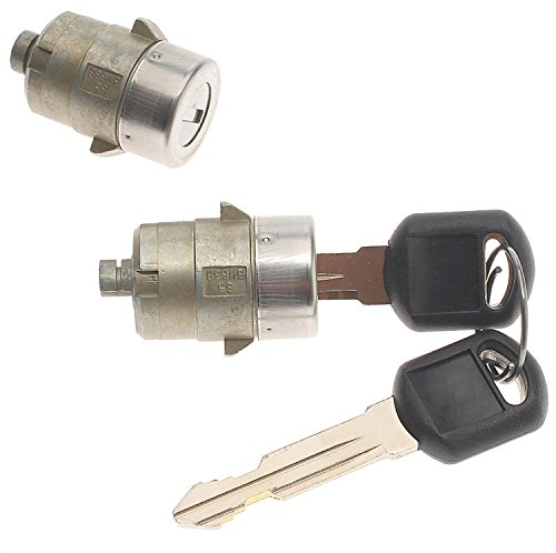 ACDelco D1480G Professional Chrome Door Lock Cylinder with Key ()