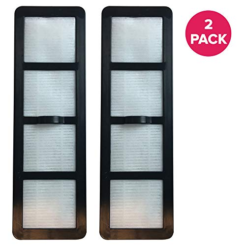 - Crucial Vacuum Filter Replacement Parts Compatible with Eureka Part # 830911, 69963 - Fits Eureka EF-6 HEPA Style Filter Fits Airspeed Upright Vacuums, Vacs, and Models - Perfect for Home (2 Pack)