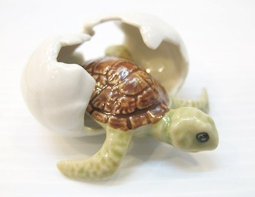 ChangThai Design Dollhouse Miniatures Ceramic Turtle for sale  Delivered anywhere in USA