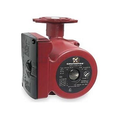 Grundfos 52722512 3-Speed 1/6 Horsepower Circulator Pump with Flow Check