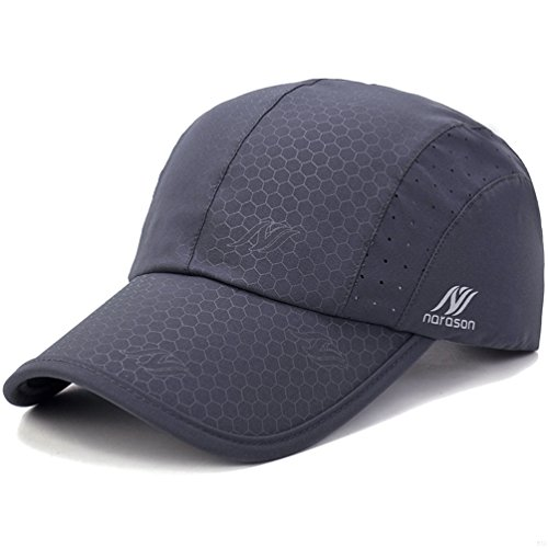 competitive price 070cf e6679 Sport Cap,Soft Brim Lightweight Waterproof Running Hat Breathable Baseball  Cap Quick Dry Sport Caps Cooling Portable Sun Hats for Men and Woman  Performance ...