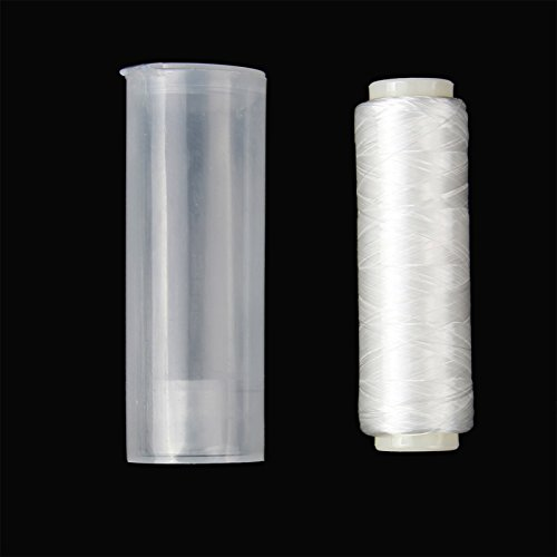 Cheap AnglerDream Bait Elastic Thread Sea Fishing Tying Material 0.2mm 656FT Per Spool Stretchy Invisible Sea Fishing line