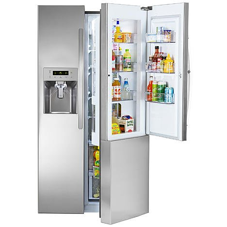 Kenmore 51833 26.1 cu. ft. Side-by-Side Refrigerator w/ G...