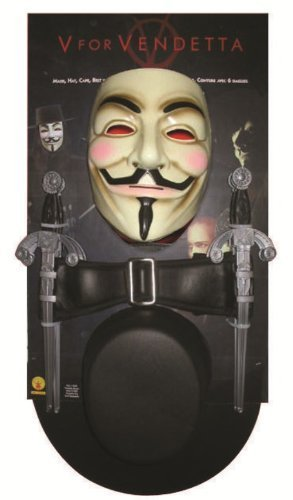 [V for Vendetta Costume Kit by Rubie's] (V For Vendetta Costumes Kit)