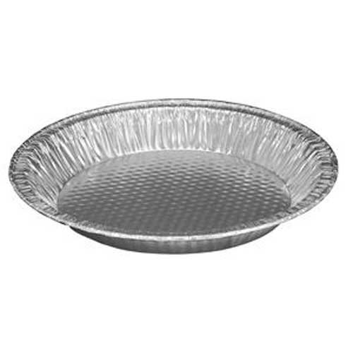 Handi Foil Bottom Quilted Pie Pan, 9 inch Top Out -- 200 per case. by Handi-Foil