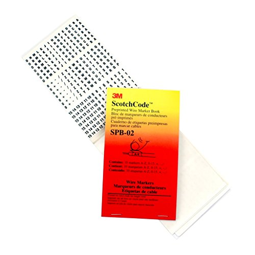 3m Markers (3M ScotchCode Pre-Printed Wire Marker Book)
