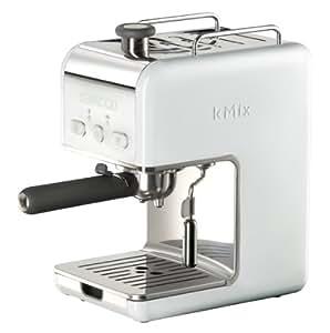 Kenwood ES 020 kMix - Máquina de café espresso con portafiltros, 1100 W, 15 bares, color blanco