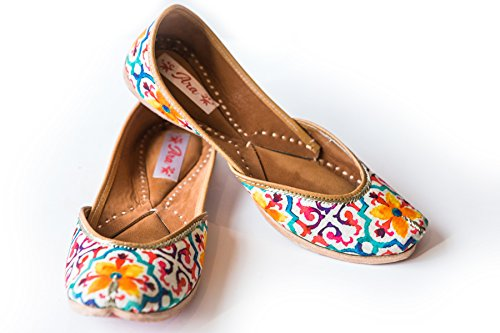 Ara Colors Women's Marigold Ballerina Walking Flats Shoes (US Size 7)