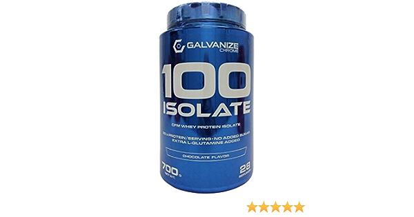 GALVANIZE 100 ISOLATE 700 g Chocolate