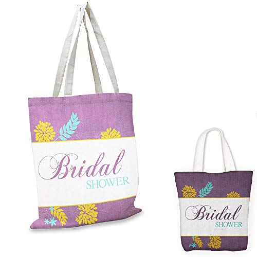 ultralight shopping bag Bridal Shower Farm Village Abstract Flowers Bride Party Celebration Image Purple Sky Blue and Marigold fruit shopping bag