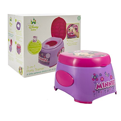Disney Minnie Mouse 3-in-1 Potty Trainer, Purple