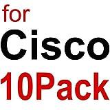 10Gtek for Cisco Compatible GLC-T/ SFP-GE-T, Gigabit RJ45 Copper SFP, 1000Base-T Transceiver Module, Pack of 10